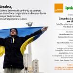 La crisi in Ucraina: incontro sul futuro di un Paese al confine