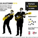 """Parte la campagna """"Portati la Biennale a casa"""": piu' di 300 artisti nelle case dei milanesi"""