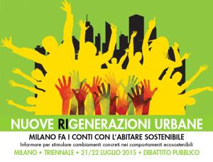 nuove rigenerazioni urbane