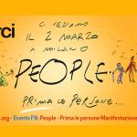 People, prima le persone: sabato 2 marzo a Milano Arci ci sarà!